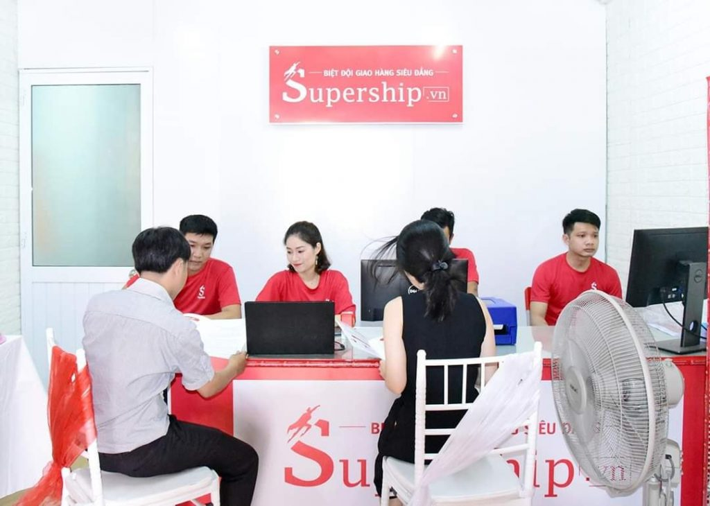 Làm đại lý giao nhận SuperShip